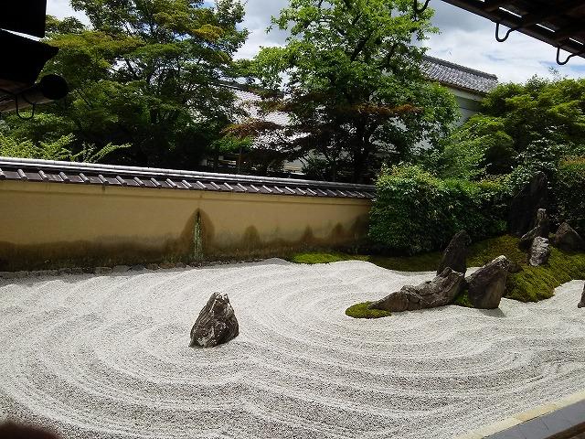 瑞峯院の石庭